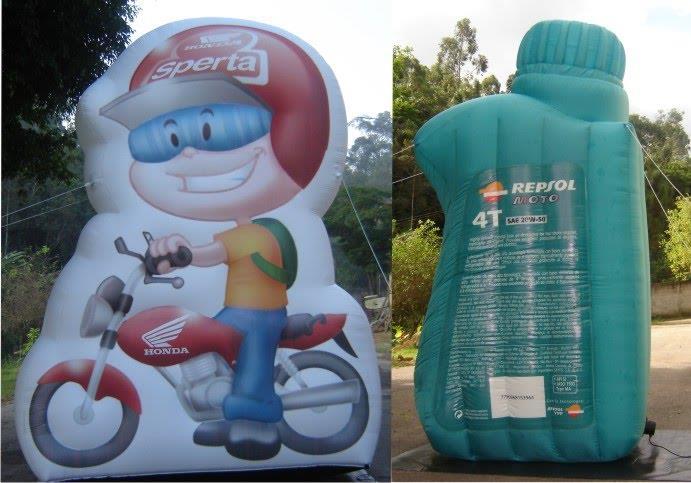 Mascotes infláveis