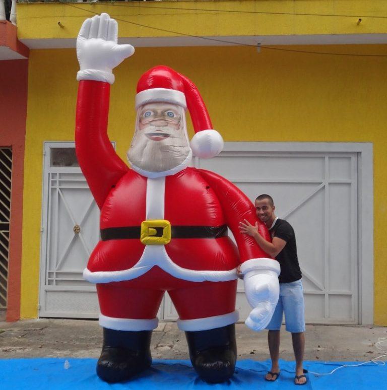 Papai Noel Inflável