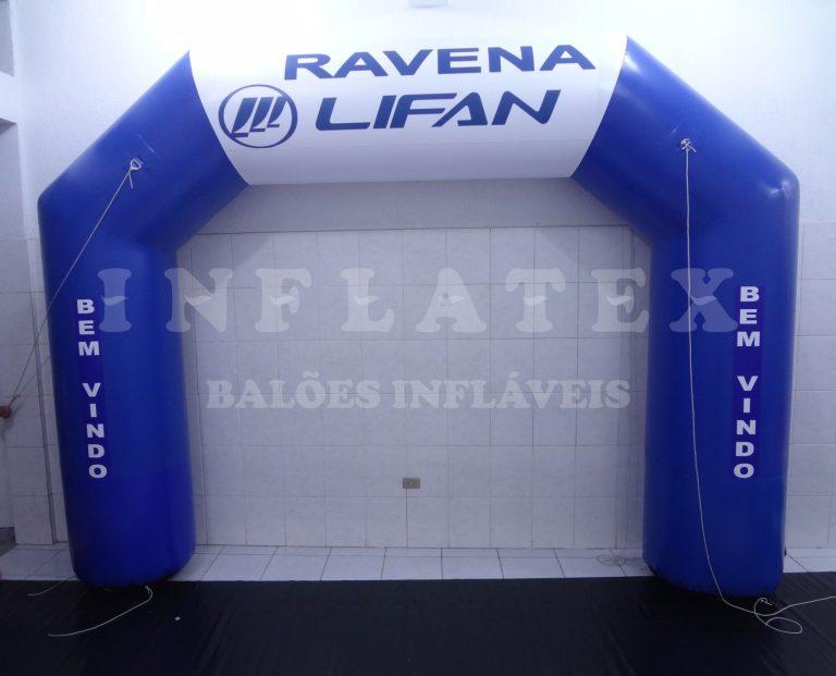 Portal inflável ou Pórtico inflável