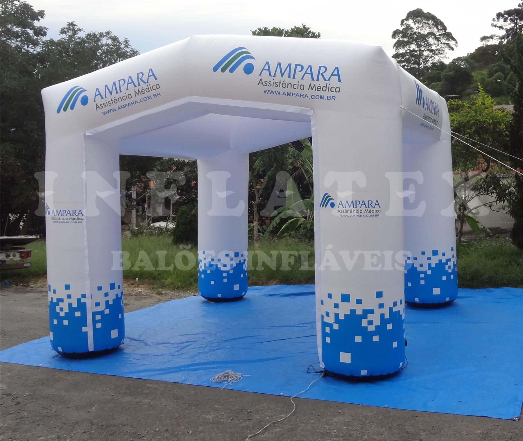 Tenda inflável Ampara