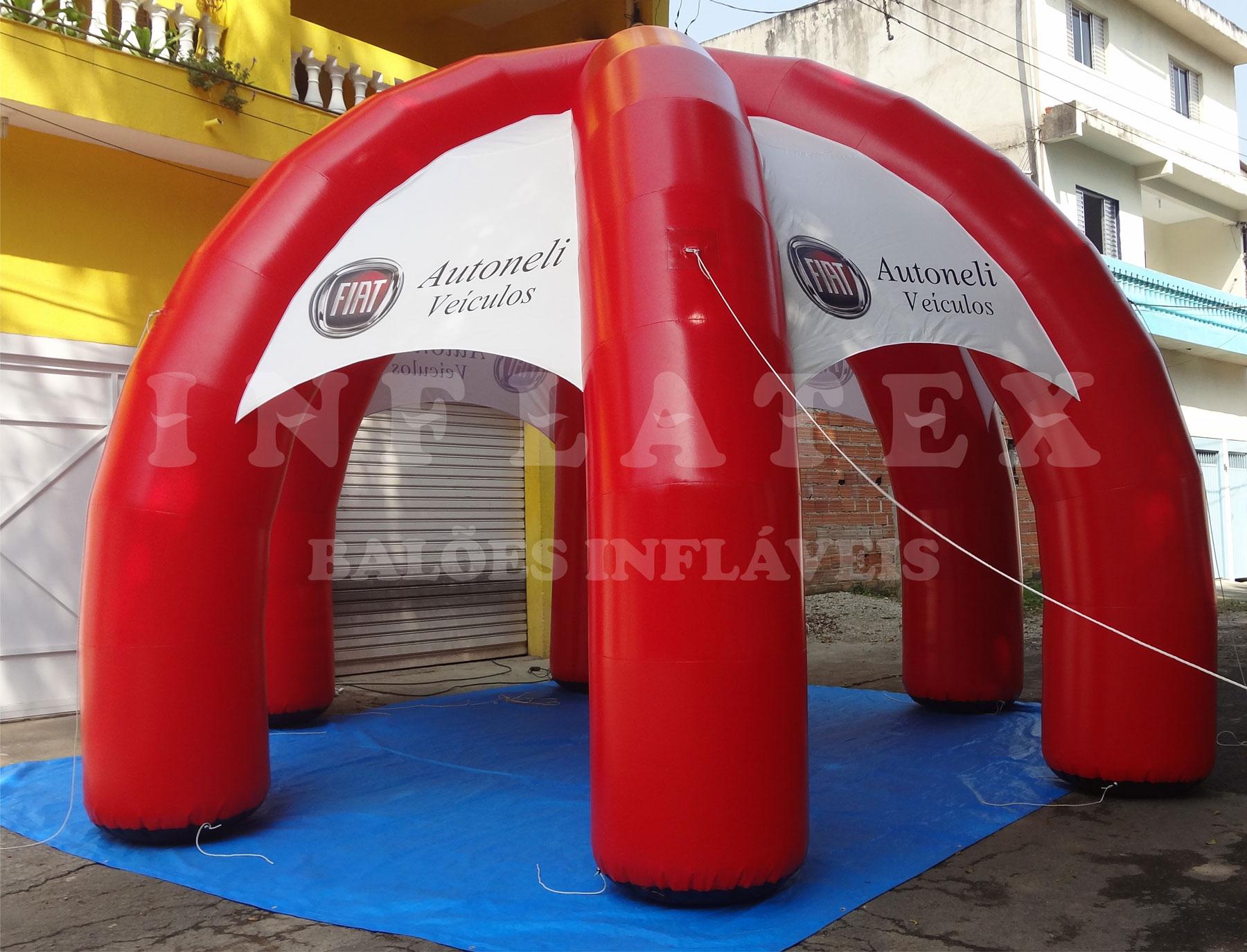 Tenda inflável Autonelli