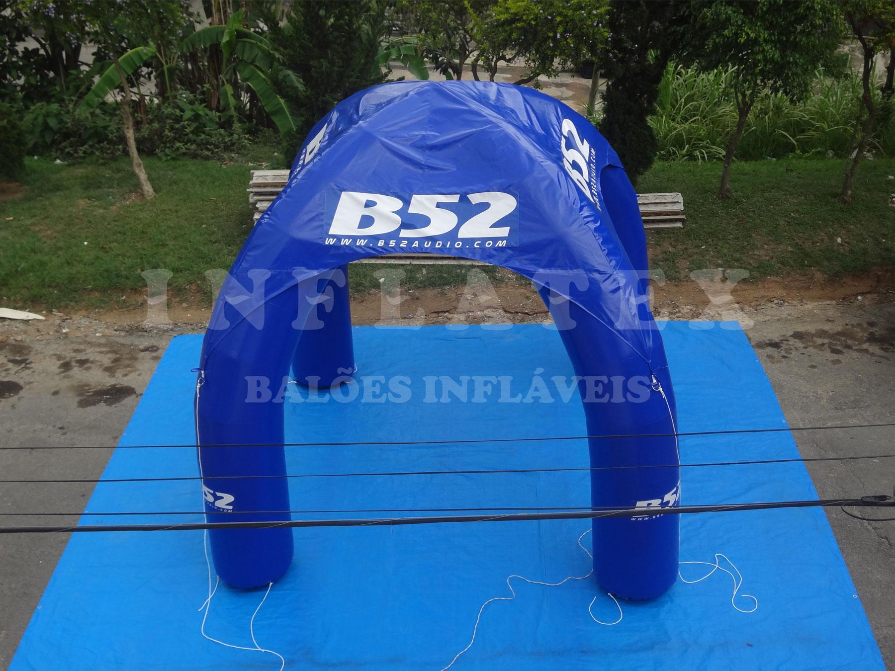 Tenda inflável b52