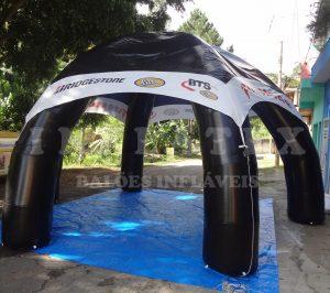 Tenda Inflável bridgestone
