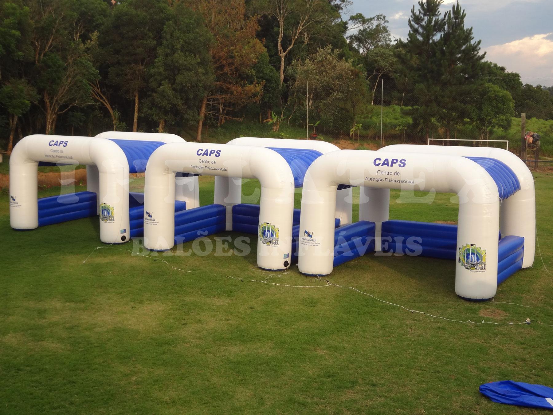 Tenda inflável CAPS