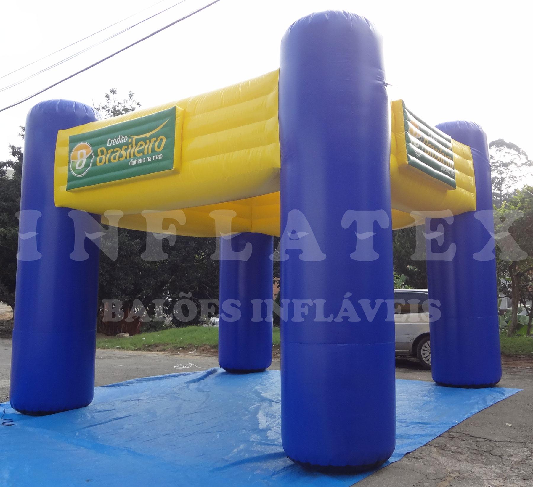 Tenda Inflável Credito Brasileiro