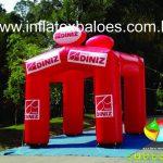 Tenda Inflável Óticas Diniz
