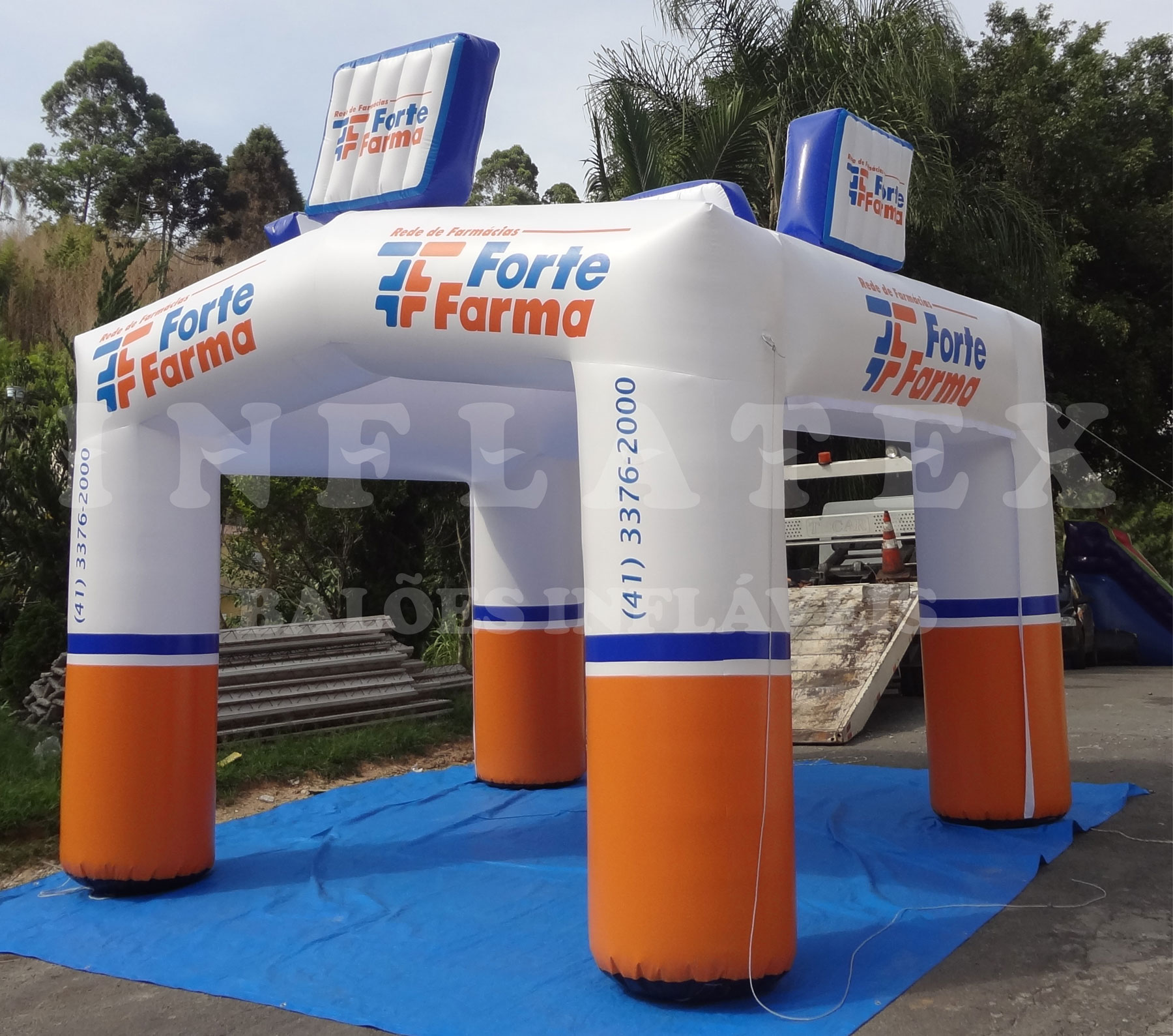 Tenda Inflável Forte Farma