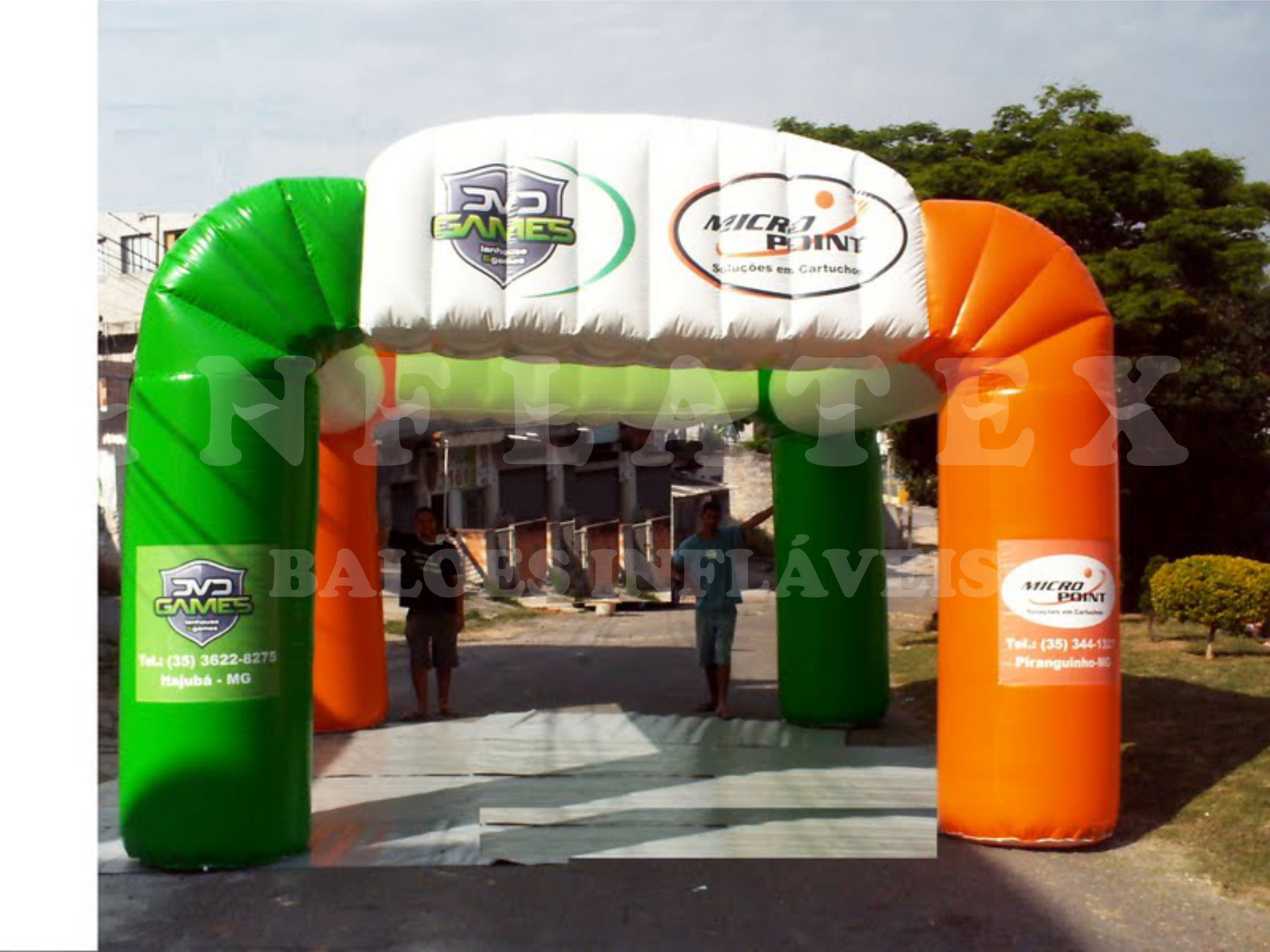 Tenda Inflável Micropoint