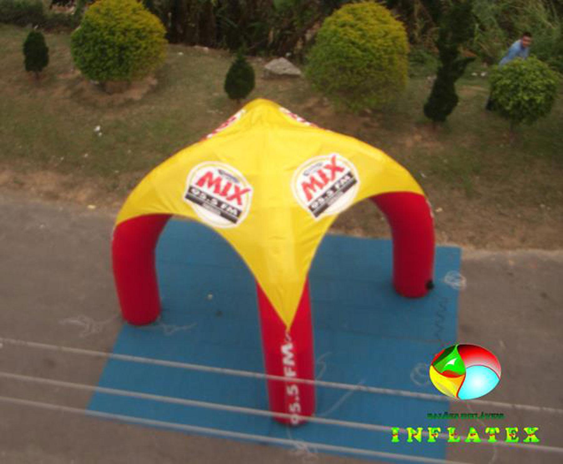 Tenda Inflável Mix FM