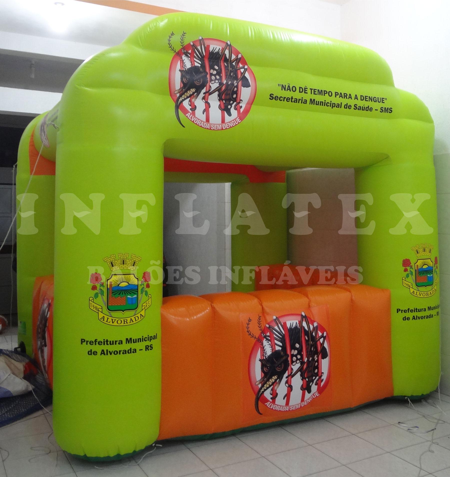 Tenda Inflável Prefeitura Alvorada